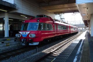 パノラマカー定期運行最終日2008年12月26日豊明駅