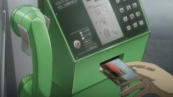 TVアニメ「ホワイトアルバム」第1話冒頭のシーン