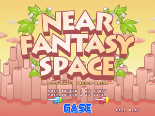 NEAR FANTASY SPACE タイトル画面
