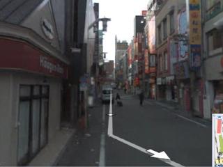Google ストリートビューより新宿歌舞伎町
