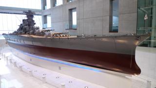 大和ミュージアムの1/10戦艦大和