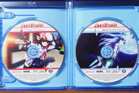 Angel Beats! Complete Collectionディスクのピクチャーレーベル
