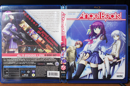 Angel Beats! Complete Collectionパッケージ