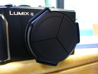 DMC-LX3にLC-1を取り付け