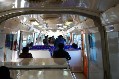 犬山モノレール線 車内