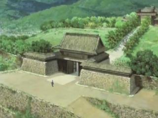 上田城の城門