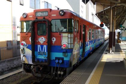 境港行き 鬼太郎列車