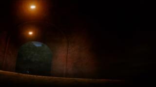 喰霊 -零- 4話 トンネル