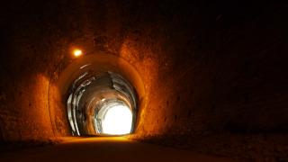 アプトの道遊歩道 5号隧道